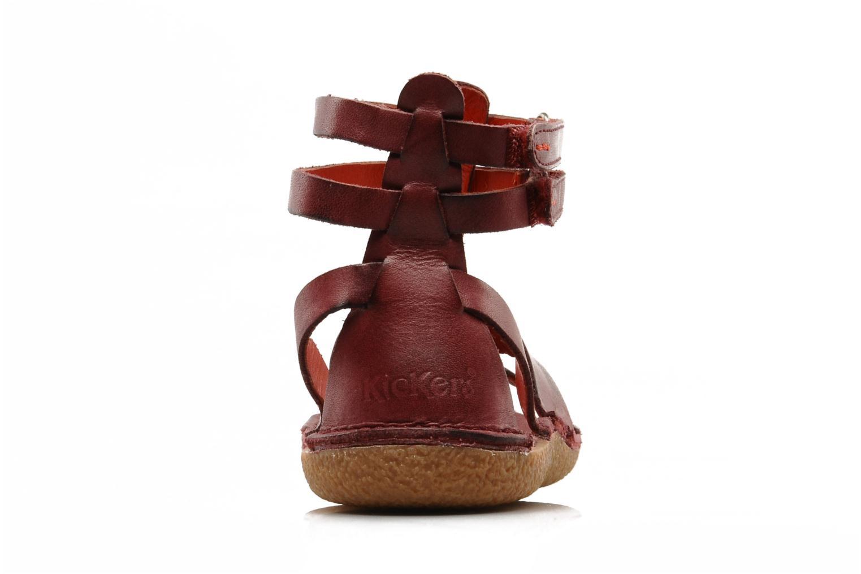 Sandales et nu-pieds Kickers PEPLUM V Violet vue droite