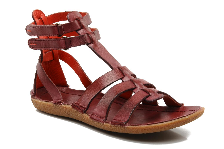 Sandales et nu-pieds Kickers PEPLUM V Violet vue détail/paire
