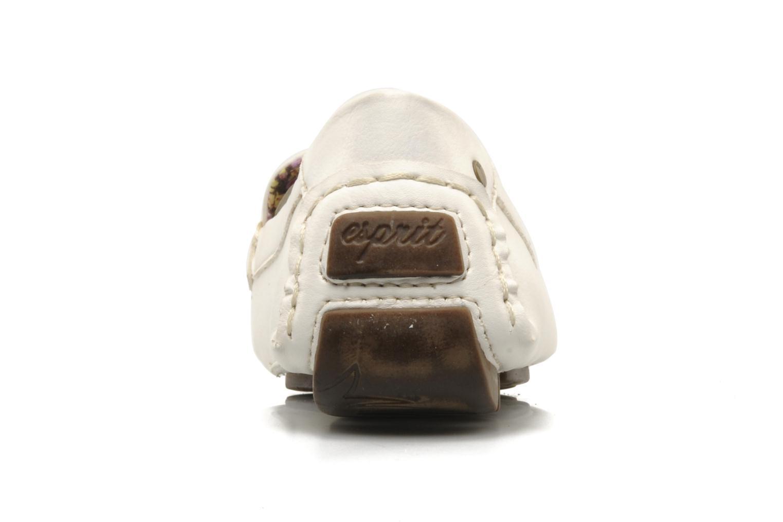 Mocassini Esprit Barabara Loafer Bianco immagine destra