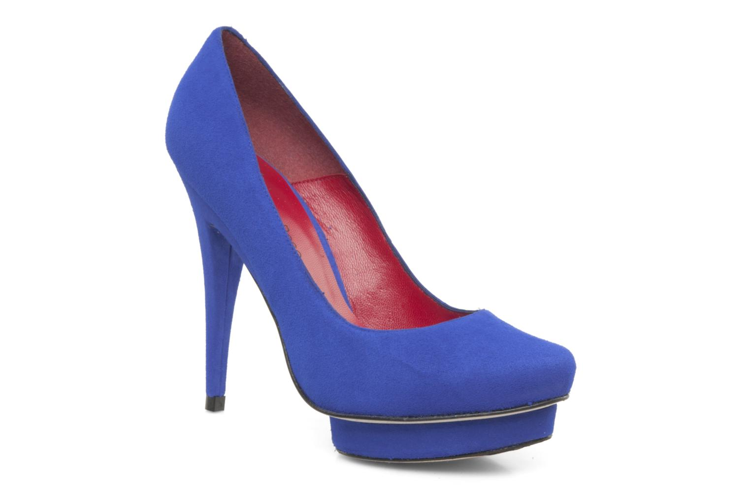 High heels Georgia Rose Giselle Blue detailed view/ Pair view