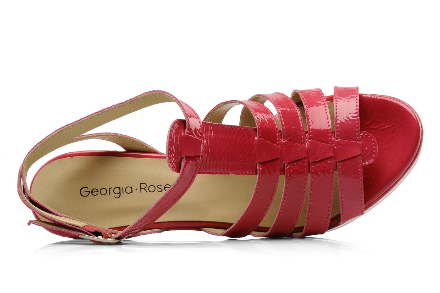 Sandals Georgia Rose Voria Pink view from the left