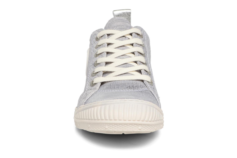 Baskets Pataugas Rock/M W Argent vue portées chaussures