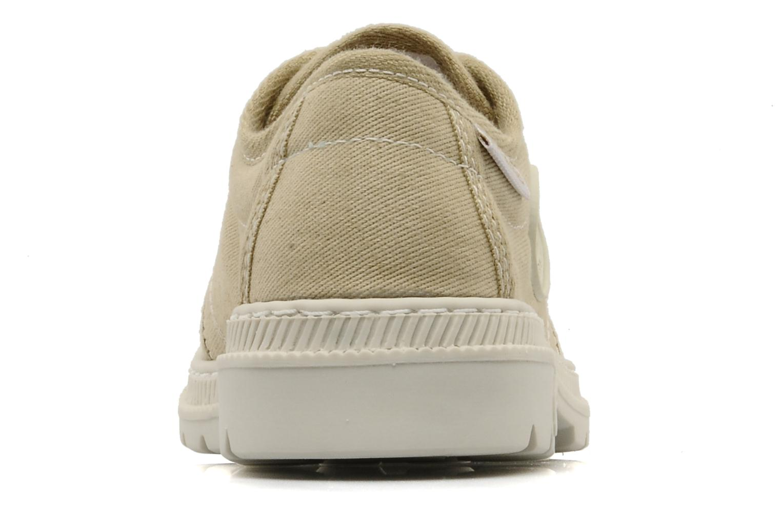 Trainers Pataugas Raid E Beige view from the right