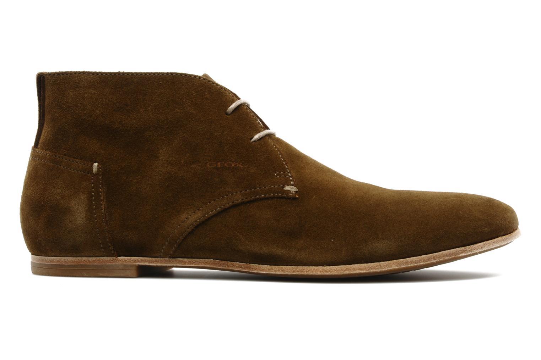 Chaussures à lacets Geox U progress A Marron vue derrière