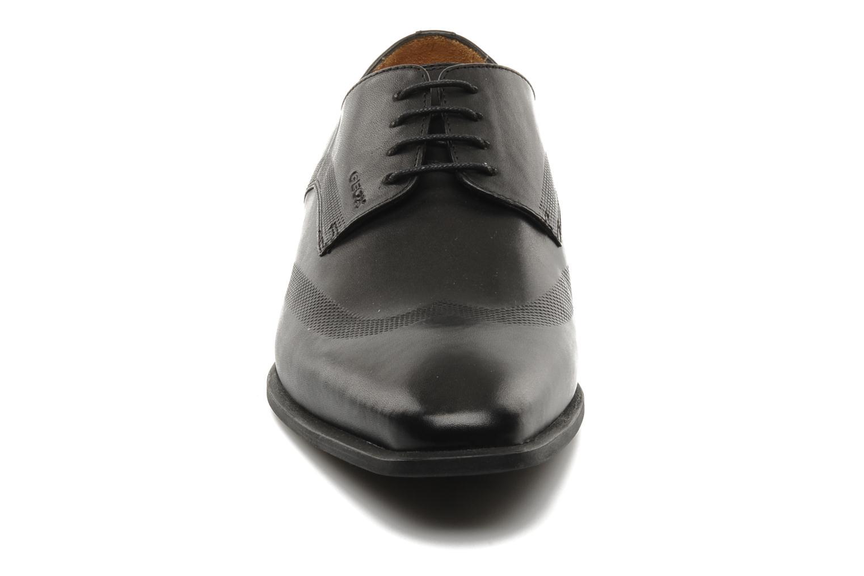 Chaussures à lacets Geox U hight life T Noir vue portées chaussures