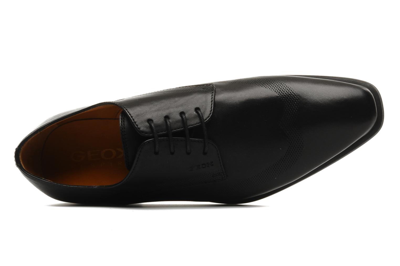 Chaussures à lacets Geox U hight life T Noir vue gauche