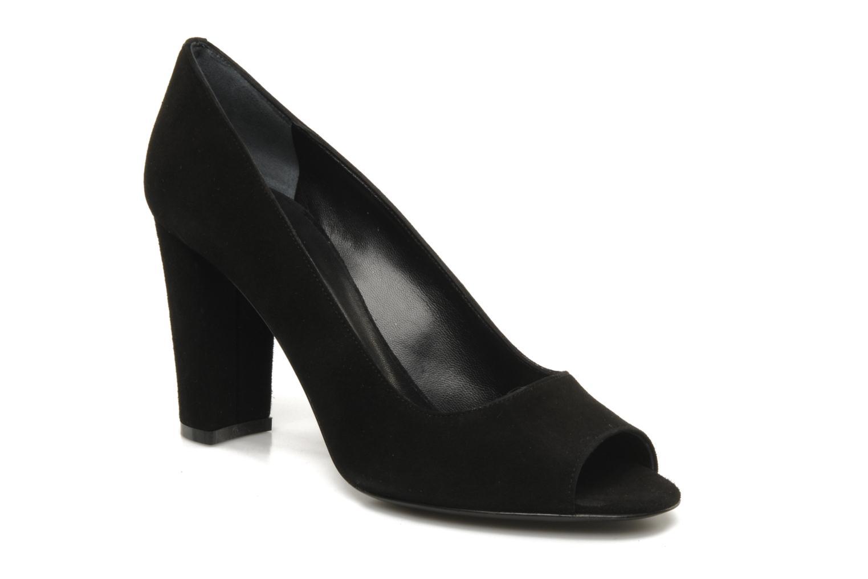High heels Georgia Rose Selphia Black detailed view/ Pair view