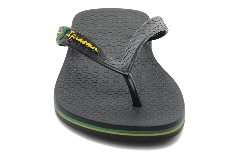Zehensandalen Ipanema Classica Brasil II f schwarz schuhe getragen