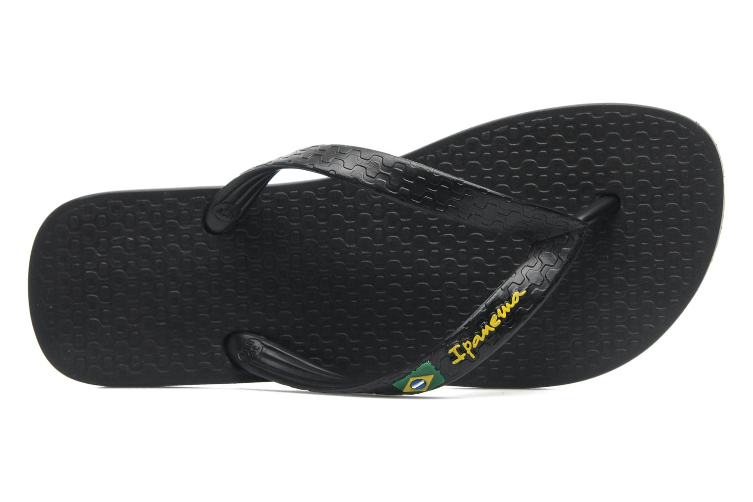 Slippers Ipanema Classica Brasil II f Zwart links