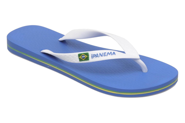 Flip flops Ipanema Classic Brasil II M Blue detailed view/ Pair view