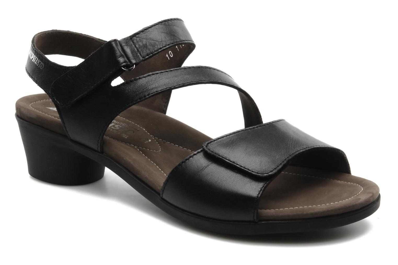 Sandales et nu-pieds Mephisto Pricila Noir vue détail/paire