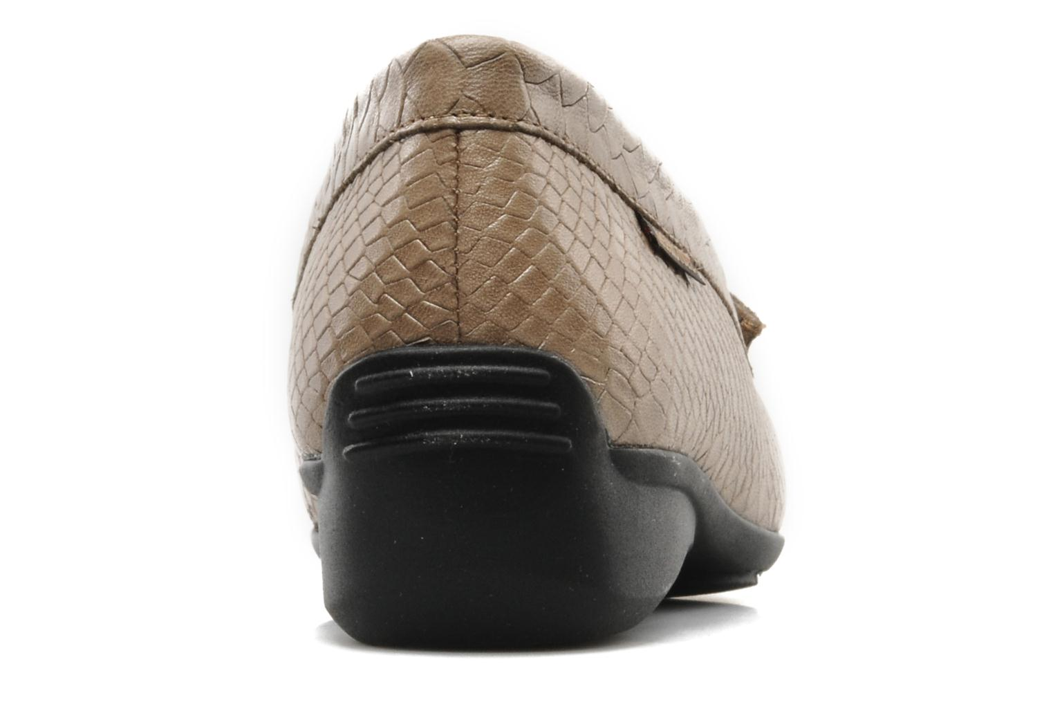 Loafers Mephisto Ninon Brown view from the right