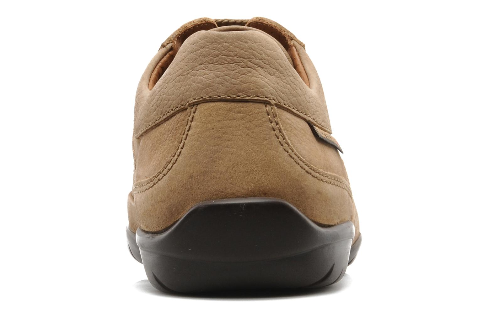 Lace-up shoes Mephisto Balek Beige view from the right
