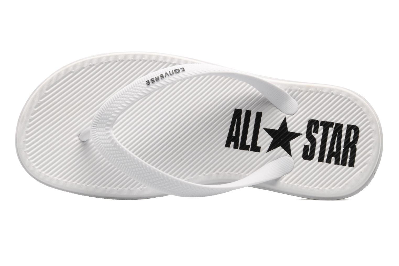 Slippers Converse Sandstar Polka dot W Wit links