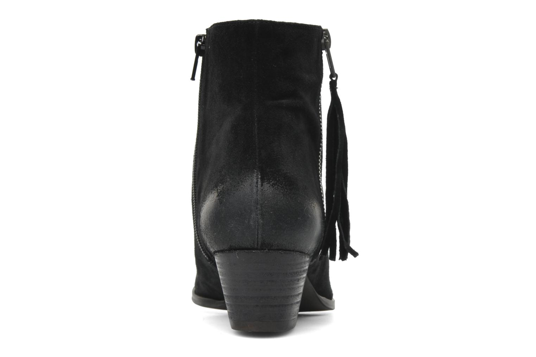 Bottines et boots Georgia Rose Timalo Noir vue droite