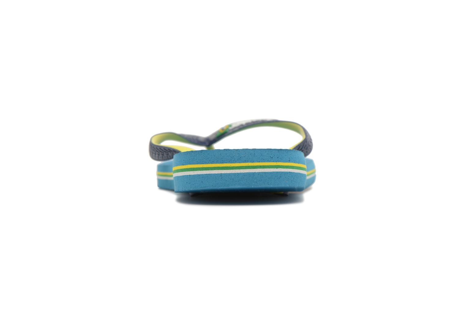 Flip flops Havaianas Brasil Mix H Blue view from the right