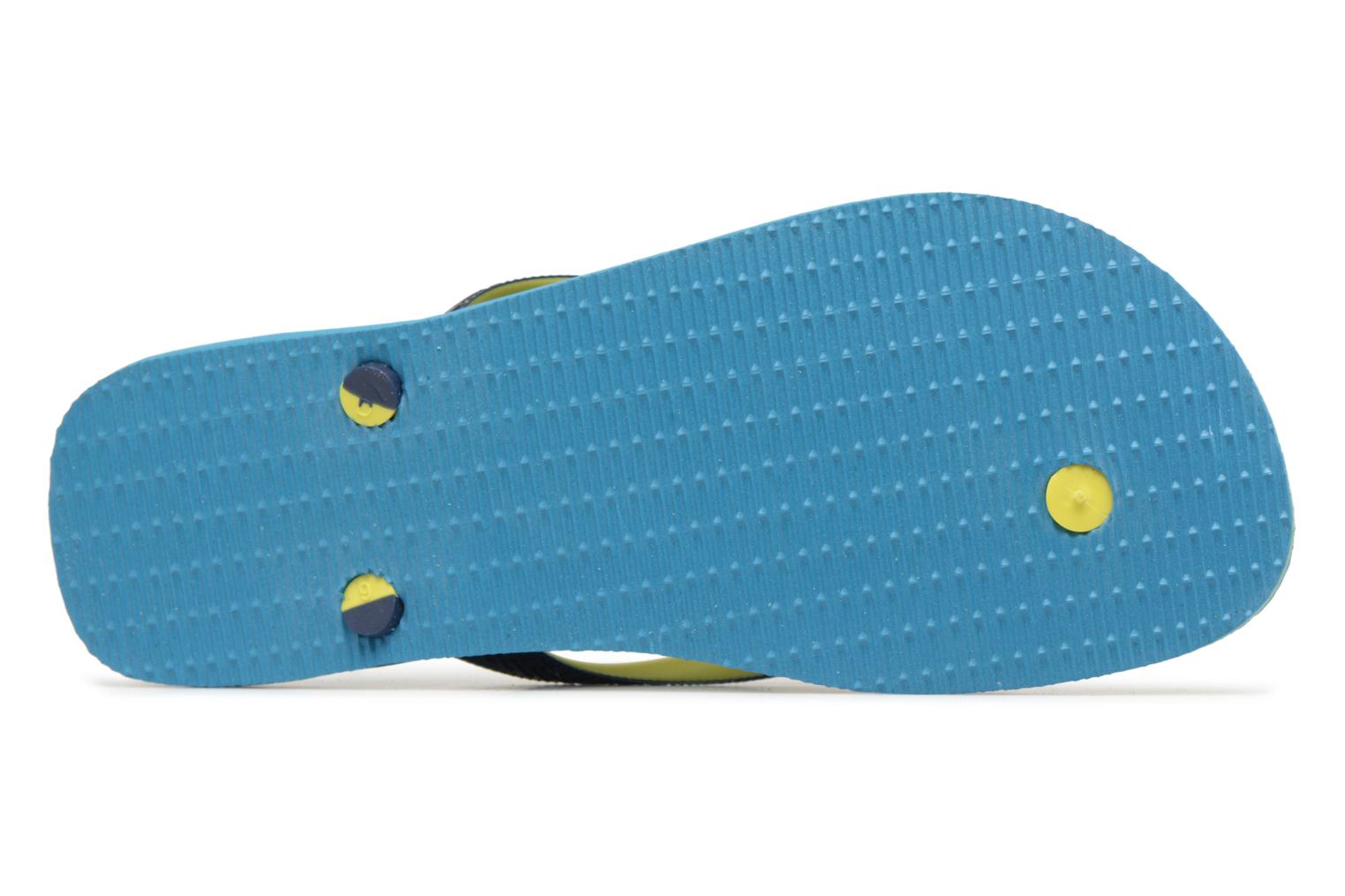 Flip flops Havaianas Brasil Mix H Blue view from above