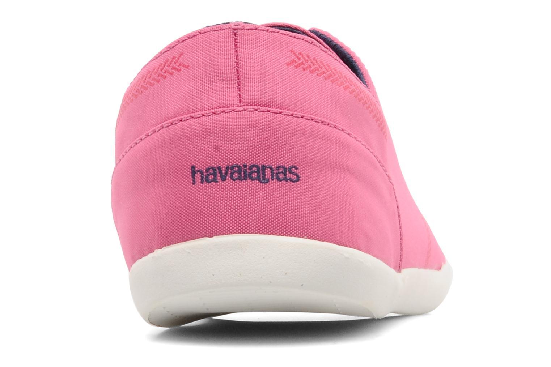 Sneaker Havaianas Essentia Low W rosa ansicht von rechts