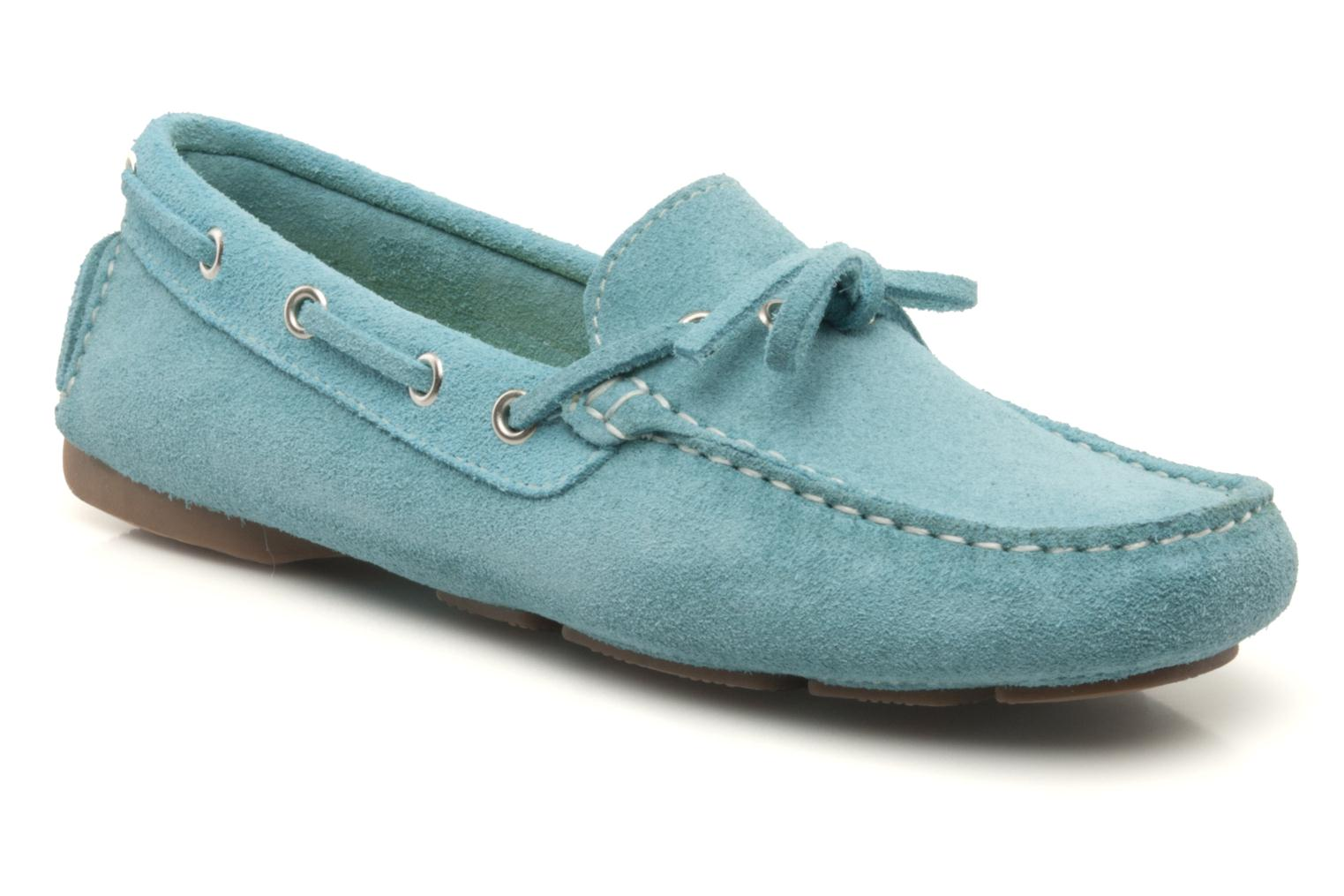 Loafers Georgia Rose Palario Blue detailed view/ Pair view