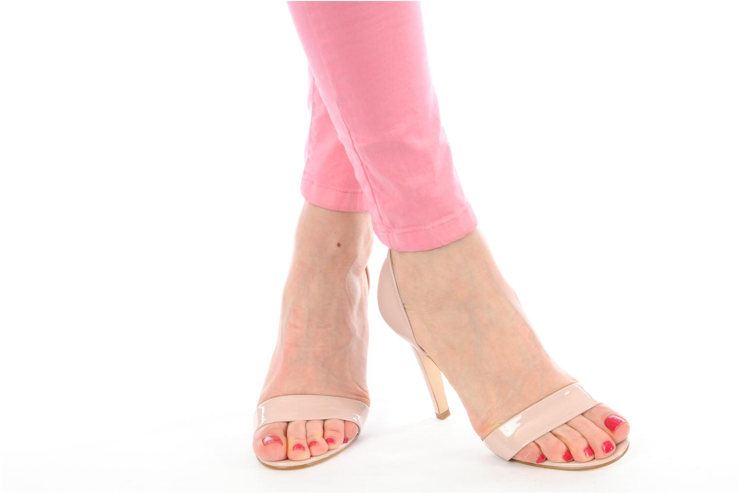 Sandals Georgia Rose Dellia Pink view from underneath / model view
