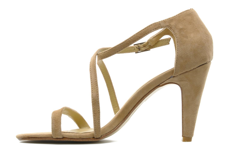 Sandales et nu-pieds Georgia Rose Soara Beige vue face
