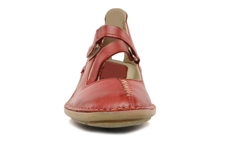 Ballerines Khrio Lemone Rouge vue portées chaussures