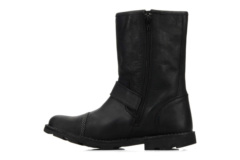 Bottines et boots Kickers Kickbike Noir vue face