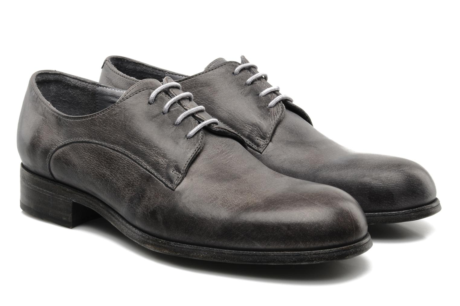 Lace-up shoes Free Lance Azev 4 derby Grey 3/4 view