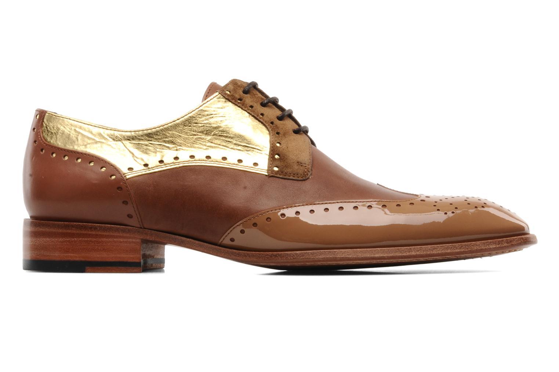 Chaussures à lacets Free Lance Totsy 4 derby perfo Marron vue derrière