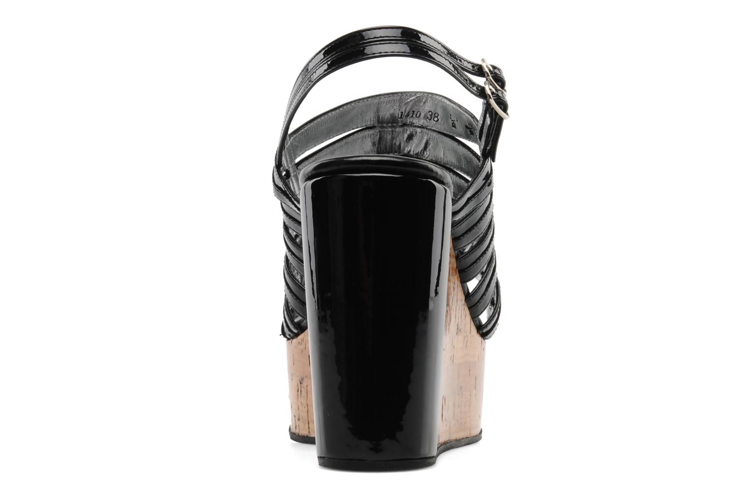 Sandals Free Lance Daphne 7 sandalstrap Black view from the right