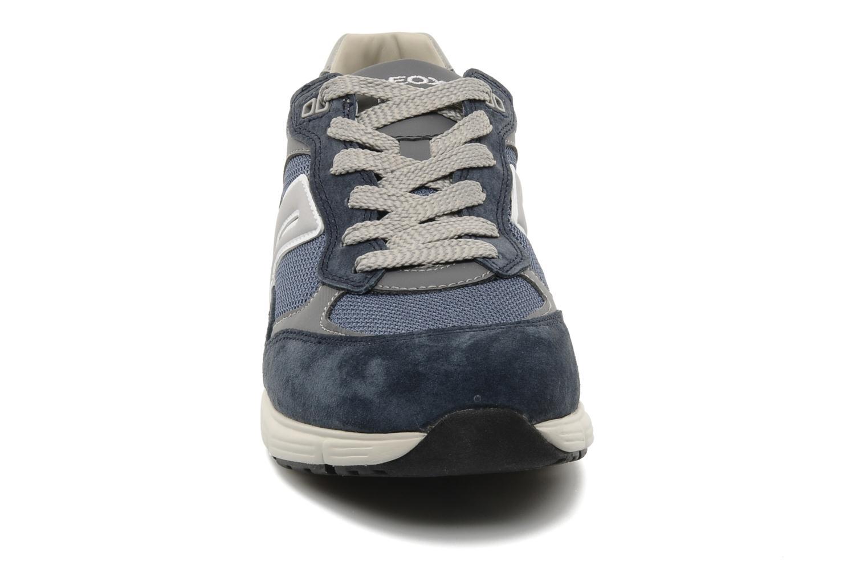 Baskets Geox U DYNAMIC M Bleu vue portées chaussures
