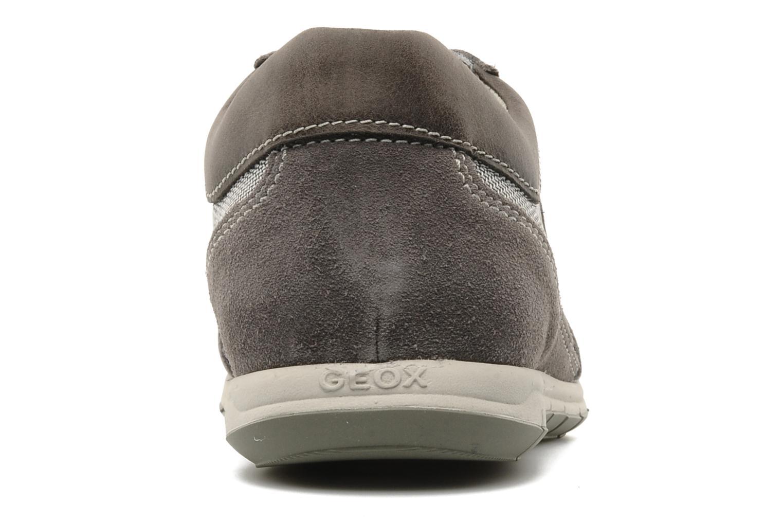 Baskets Geox U ACTIVE A Gris vue droite