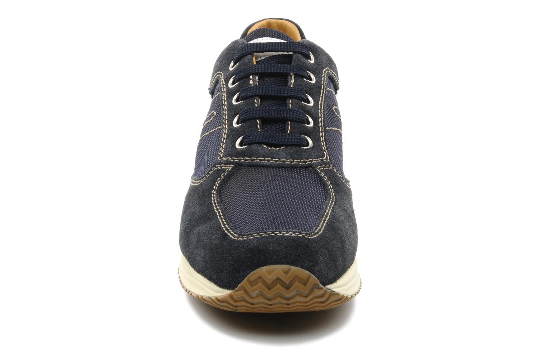 Baskets Geox U HAPPY G Bleu vue portées chaussures