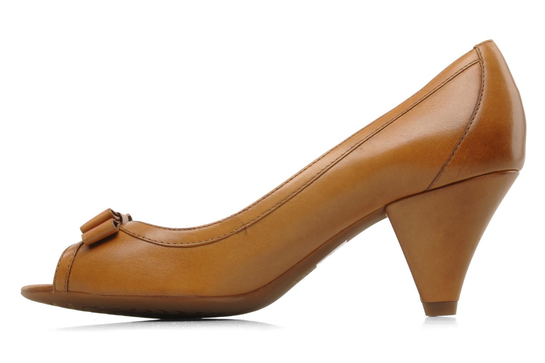 Zapatos de tacón Geox D Francia Z Marrón vista de frente