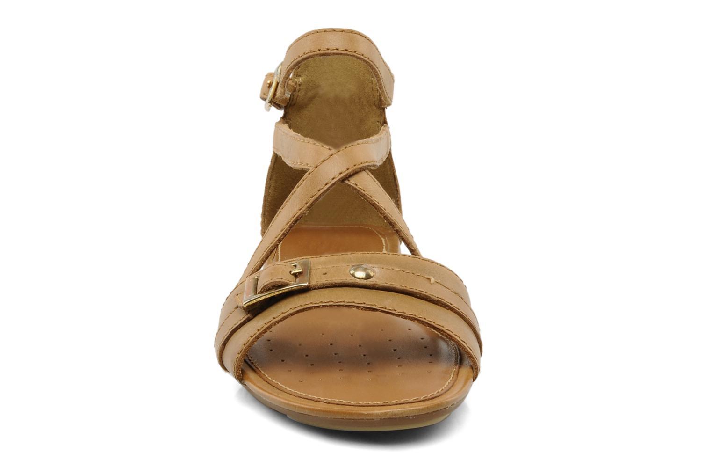 Sandals Geox D felisa d Brown model view