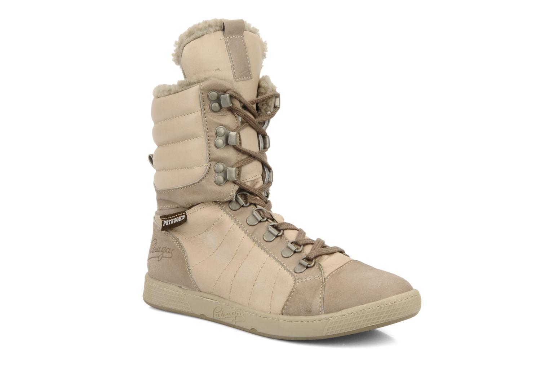 Sneakers Pataugas Janet w Beige detaljeret billede af skoene