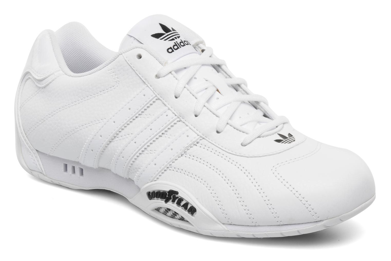 Adi Racer Low White White Black 1