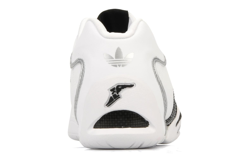 Baskets Adidas Originals Adi Racer Lo J Blanc vue droite