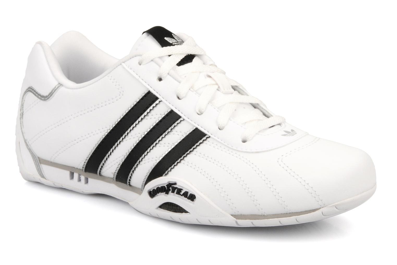 Baskets Adidas Originals Adi Racer Lo J Blanc vue détail/paire
