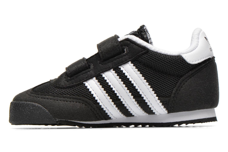 Sneaker Adidas Originals Dragon CF I schwarz ansicht von vorne