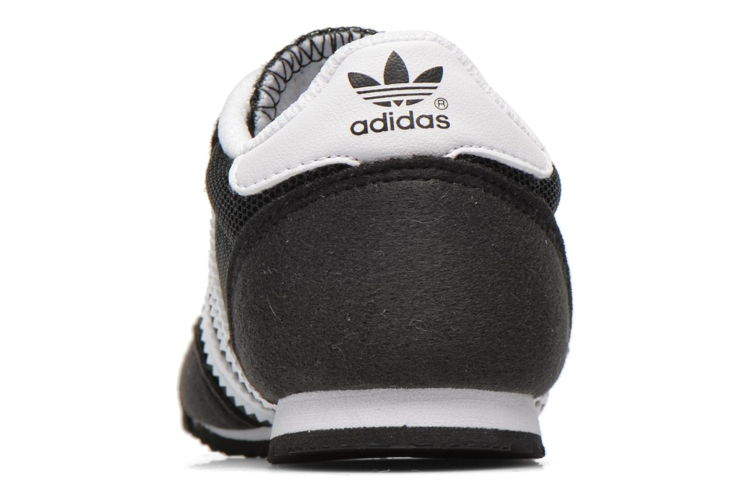 Trainers Adidas Originals Dragon CF I Black view from the right