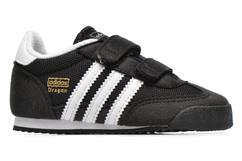Sneaker Adidas Originals Dragon CF I schwarz ansicht von hinten