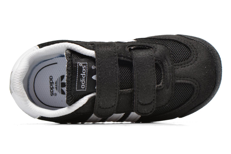 Sneaker Adidas Originals Dragon CF I schwarz ansicht von links