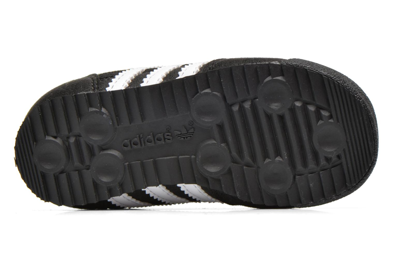 Sneaker Adidas Originals Dragon CF I schwarz ansicht von oben