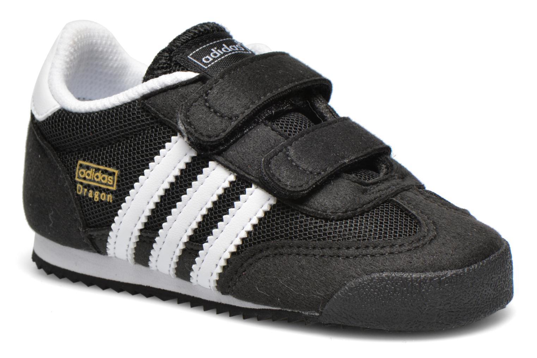 Trainers Adidas Originals Dragon CF I Black detailed view/ Pair view
