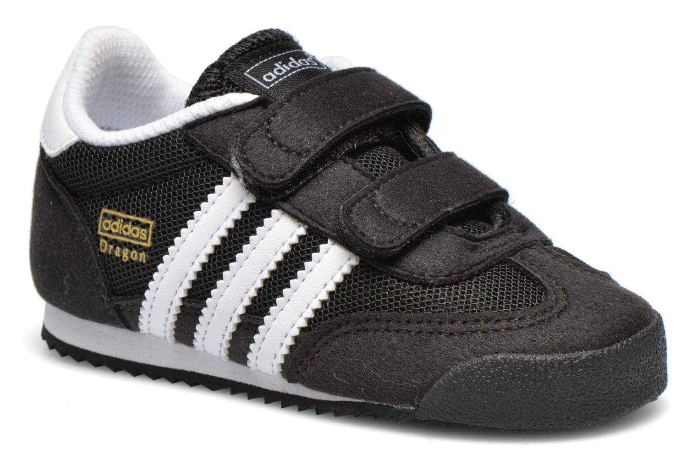 Sneakers Adidas Originals Dragon CF I Svart detaljerad bild på paret