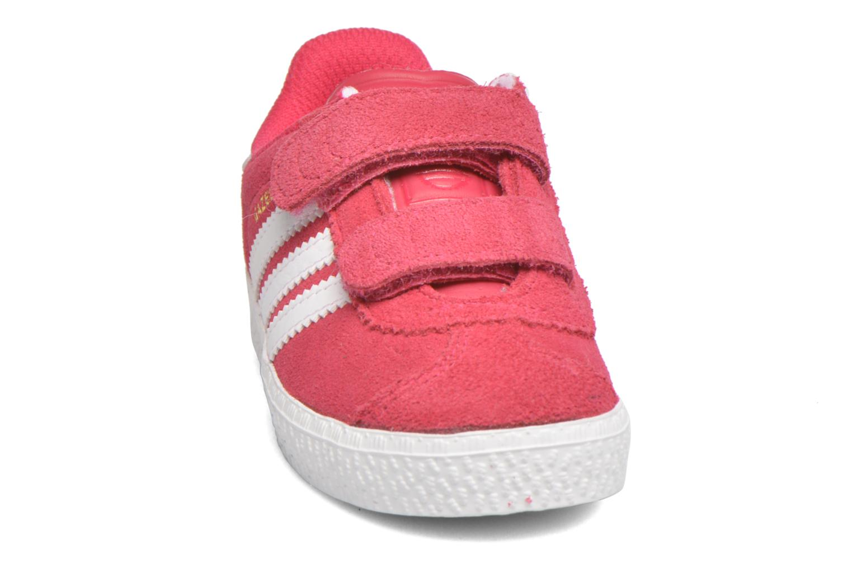 Sneaker Adidas Originals Gazelle 2 CF I rosa schuhe getragen