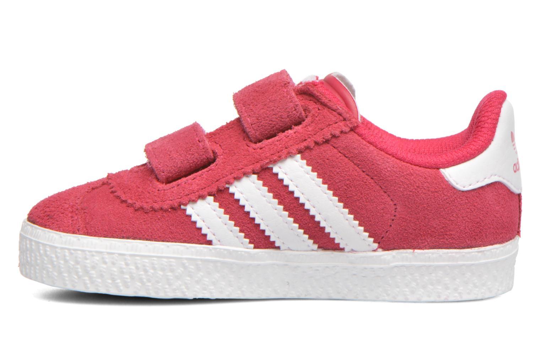 Trainers Adidas Originals Gazelle 2 CF I Pink front view