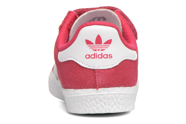Sneaker Adidas Originals Gazelle 2 CF I rosa ansicht von rechts