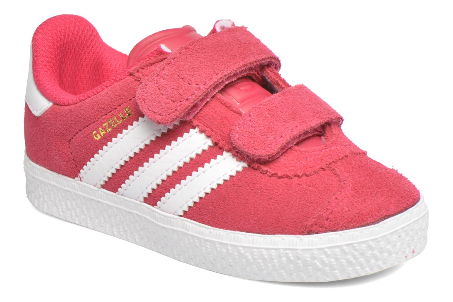 Trainers Adidas Originals Gazelle 2 CF I Pink detailed view/ Pair view